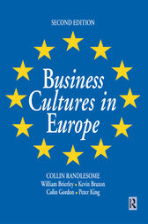 Business Cultures in Europe by William Brierley
