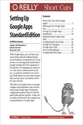Setting Up Google Apps Standard Edition by William Lawrence