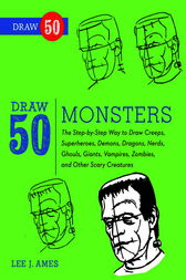 Draw 50 Monsters by Lee J. Ames