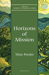 Horizons of Mission by Titus Presler