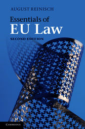 Essentials of EU Law by August Reinisch