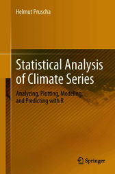 Statistical Analysis of Climate Series by Helmut Pruscha