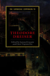 The Cambridge Companion to Theodore Dreiser by Leonard Cassuto