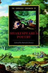 The Cambridge Companion to Shakespeare's Poetry by Patrick Cheney