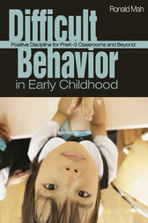 Difficult Behavior in Early Childhood by Ronald Mah