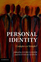 Personal Identity by Georg Gasser