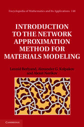 Introduction to the Network Approximation Method for Materials Modeling by Leonid Berlyand