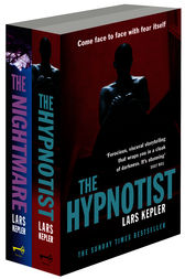 Joona Linna Crime Series Books 1 and 2: The Hypnotist, The Nightmare by Lars Kepler