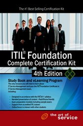 ITIL Foundation Complete Certification Kit - Fourth Edition: Study Guide Book and Online Course by Ivanka Menken