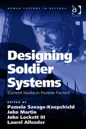 Designing Soldier Systems by Laurel Allender