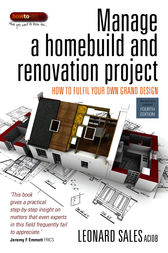 Manage A Home Build And Renovation Project by Leonard Sales