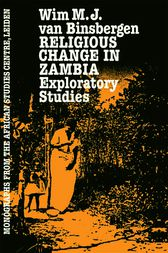 Religious Change In Zambia by Van
