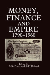 Money, Finance, and Empire, 1790-1960 by R. F Holland