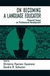 on Becoming A Language Educator by Christine Pears Casanave