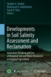 Developments in Soil Salinity Assessment and Reclamation by Shabbir A. Shahid
