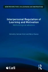 Interpersonal Regulation of Learning and Motivation by Simone Volet