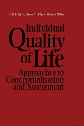Individual Quality of Life by Joyce