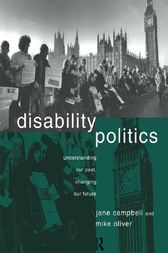 Disability Politics by Jane Campbell