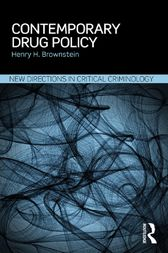 Contemporary Drug Policy by Henry H Brownstein