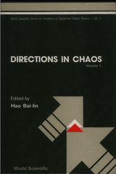 Directions in Chaos - Volume 1 by Bai-Lin Hao