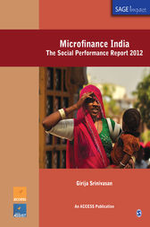 Microfinance India by Girija Srinivasan