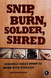 Snip burn solder shred
