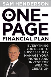 The One Page Financial Plan by Sam Henderson