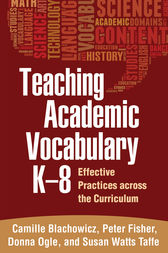 Teaching Academic Vocabulary K-8 by Camille Blachowicz