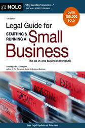 Legal Guide for Starting & Running a Small Business by Fred S. Steingold