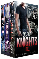 Black Knights Inc. Boxed Set: Volumes 1-3 by Julie Ann Walker