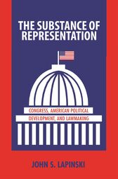 The Substance of Representation by John S. Lapinski
