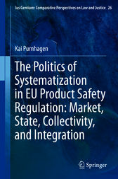 The Politics of Systematization in EU Product Safety Regulation: Market, State, Collectivity, and Integration by Kai Purnhagen