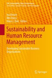 Sustainability and Human Resource Management by Ina Ehnert
