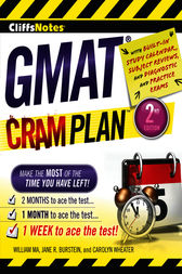 CliffsNotes GMAT Cram Plan, 2nd Edition by Carolyn Wheater
