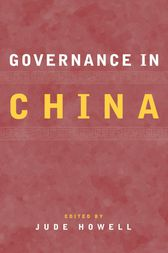 Governance in China by Jude Howell