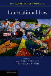 The Cambridge Companion to International Law by James Crawford