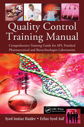 Quality Control Training Manual by Syed Imtiaz Haider