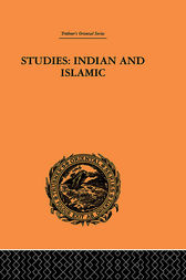 Studies: Indian and Islamic
