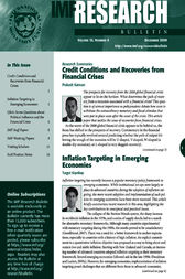 IMF Research Bulletin, December 2009 by International Monetary Fund. Research Dept.