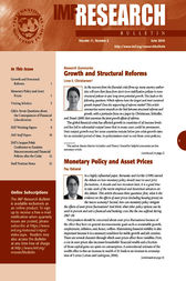 IMF Research Bulletin, June 2010 by International Monetary Fund. Research Dept.