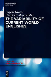 The Variability of Current World Englishes by Eugene Green