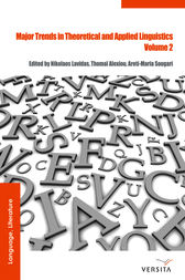 Major Trends in Theoretical and Applied Linguistics 2 by Nikolaos Lavidas