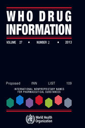 WHO Drug Information  Vol. 27 No. 2  2013 by WHO
