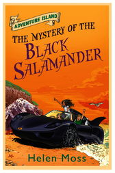 Adventure Island 12: The Mystery of the Black Salamander by Helen Moss
