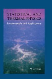 Statistical and Thermal Physics by M.D. Sturge