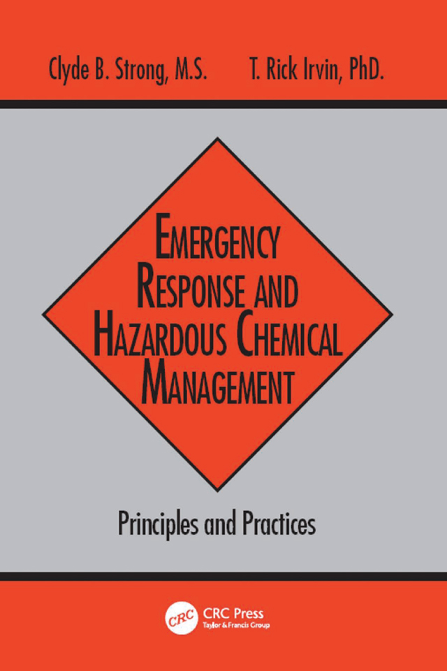 Download Ebook Emergency Response and Hazardous Chemical Management by Clyde B. Strong Pdf