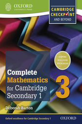 Complete Mathematics for Cambridge Lower Secondary 3: For Cambridge Checkpoint and beyond