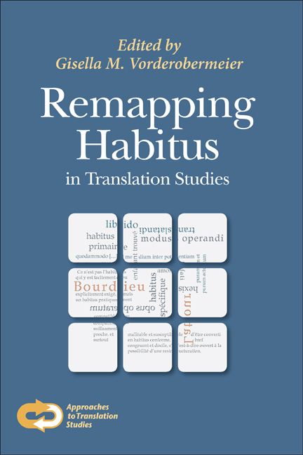 Remapping Habitus in Translation Studies - 50-99.99