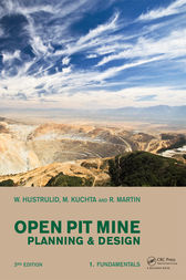 open pit mine planning and design third edition pdf