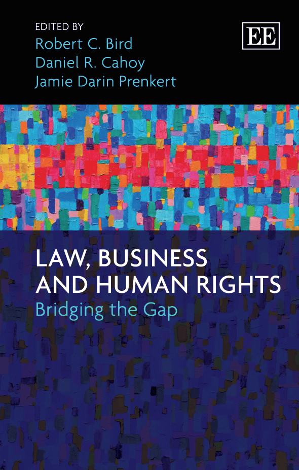 Download Ebook Law, Business and Human Rights by R. C. Bird Pdf